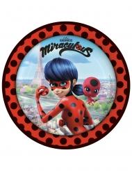 8 kartonnen Ladybug™ bordjes