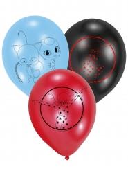 6 latex Ladybug™ ballonnen