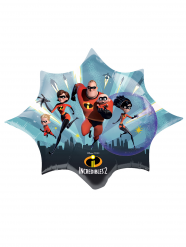 Kleine aluminium Incredibles 2™ ballon