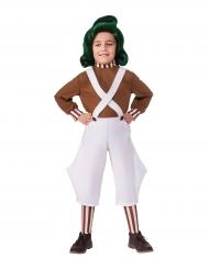 Oempa Loempa™ Sjakie en de Chocoladefabriek™ kostuum voor kinderen