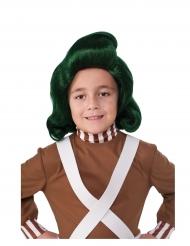 Sjakie en de Chocoladefabriek™ Oempa Loempa™ pruik voor kinderen