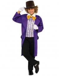 Sjakie en de Chocoladefabriek™ Willy Wonka™ kostuum voor kinderen