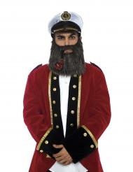 Luxe zeekapitein accessoire set voor volwassenen