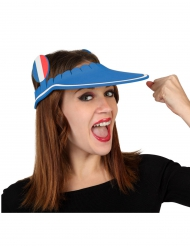 Frankrijk supporter pet met klep van schuim