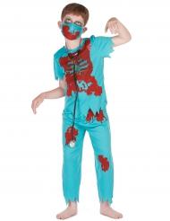 Zombie dokter outfit voor jongens