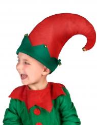 Elfen muts met belletjes voor kinderen