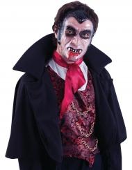 Doorzichtig vampier masker voor volwassenen