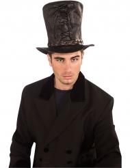 Steampunk gothic hoed met touwtjes voor mannen