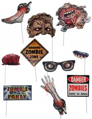Zombie photobooth accessoires