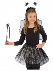 Zwarte spin set voor meisjes