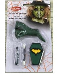 Mini heks schmink set met neppe neus