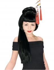 Lange geisha pruik voor vrouwen