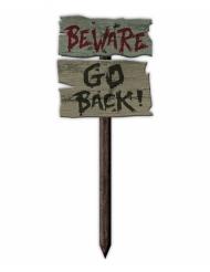 Beware Go Back bord