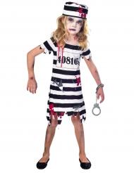 Zombie gevangene kostuum voor meisjes