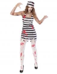 Zombie gevangene outfit voor vrouwen