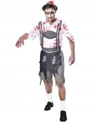 Oktoberfest zombie kostuum voor mannen