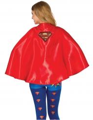 Rode Supergirl™ cape voor vrouwen