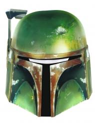 Kartonnen Boba Fett Star Wars™ masker voor volwassenen
