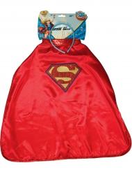 Supergirl™ Super Hero Girls™ cape en haarband voor kinderen