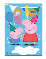 10 Peppa Pig™ cadeauzakjes
