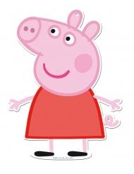 2 kartonnen Peppa Pig™ muurdecoraties