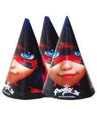 6 Ladybug™ feesthoedjes