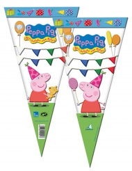 6 Peppa Pig™ snoepzakjes