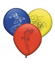 8 latex Avengers™ ballonnen