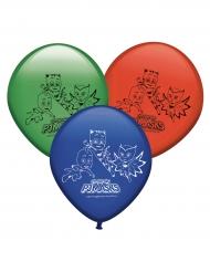 8 latex PJ Masks™ ballonnen