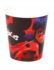 8 Miraculous Ladybug™ bekers van karton