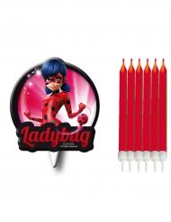 Verjaardag kaarsjes Miraculous Ladybug™