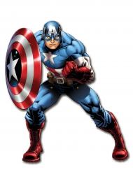 Beweegbare Captain America™ muurdecoratie