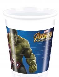 8 plastic Avengers Infinity War™ bekers