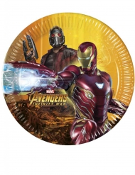 8 Avengers Infinity War™ bordjes