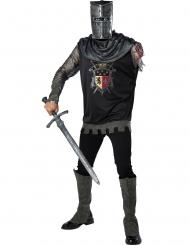 Ridder kostuum met afgehakte arm kostuum voor volwassenen
