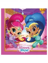 20 Shimmer & Shine™ geesten servetten