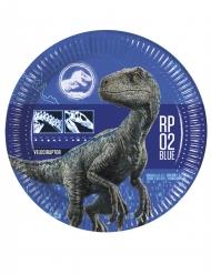 8 kartonnen Jurassic World 2™ borden