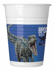 8 plastic Jurassic World 2™ bekers