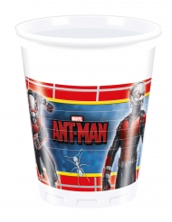 8 plastic Ant-Man™ bekers