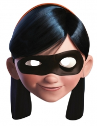 Kartonnen masker Violet The Incredibles™ volwassenen