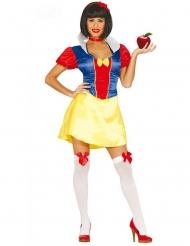 Kleurig prinsessen kostuum voor vrouwen