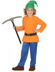 Oranje kabouter kostuum voor kinderen
