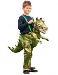 Dinosaurus carry me outfit voor kinderen