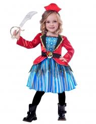 Klein piraat kostuum voor meisjes