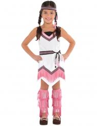 Roze indianen kostuum voor kinderen
