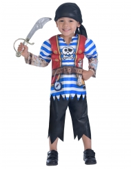 Piratenkostuum met opdruk voor jongens