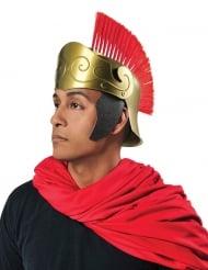Romeinse helm met rode kuif voor volwassenen