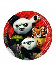 8 kartonnen Kung Fu Panda 3™ borden