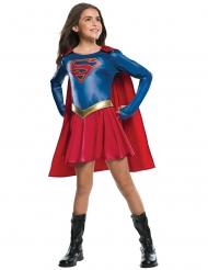 Glanzend Supergirl™ kostuum voor meisjes