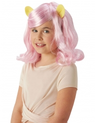 My Little Pony™ Fluttershy pruik voor meisjes
